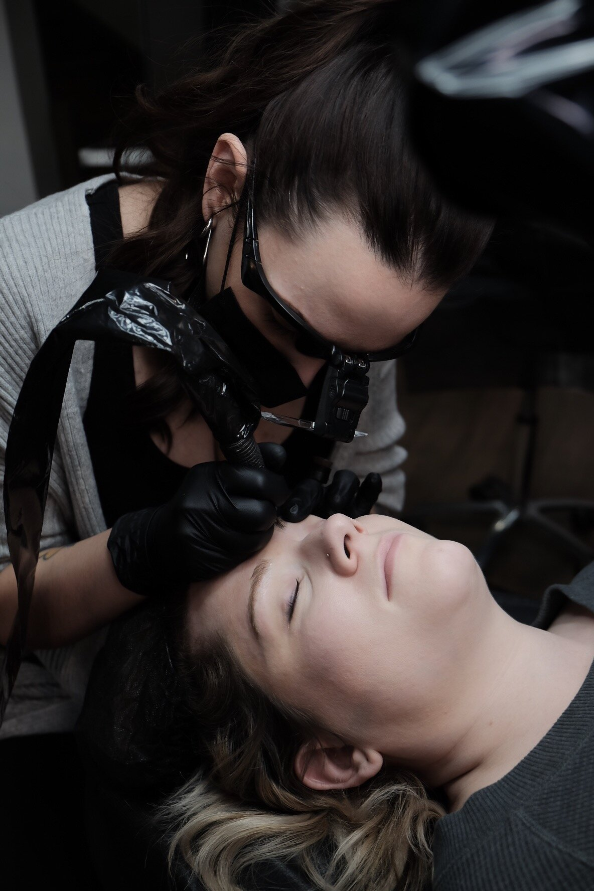COURTNEY - I will go ahead and start off by saying this has been the best advanced course I have ever taken. I have been an esthetician for 10 years and have taken several continuing education courses and this has surpassed all of my expectations. I started microblading 2017 and have been on a journey to transfer completely over to the machine technique. It is a very competitive industry and people are very reluctant to share their experience, strength and technique and when they do they overbook their class, and you leave more confused than ever. Hoi only trains two people at a time, which just outlines the integrity she has for her work and for her students. Hoi and her fiance Lance have an incredible work ethic and a passion that bleeds through them. The attention to detail is what I appreciated the most this trip, down to the very final night. Hoi has worked so hard to craft her skillset and I am incredibly honored to be able to be a part of her journey and to experience her knowledge. This was the first training course where I didn't want to leave, not because i wasn't ready or feeling confident in my craft, but because Hoi and Lance made my visit so worthwhile that I wanted more time to connect with the humans that they are. If you are beginning or have a couple years of experience, this class is worth every penny. She has done everything she can to give you everything you need to know to succeed and then some. My favorite course, my favorite humans. I will be back! I MISS YOU GUYS!