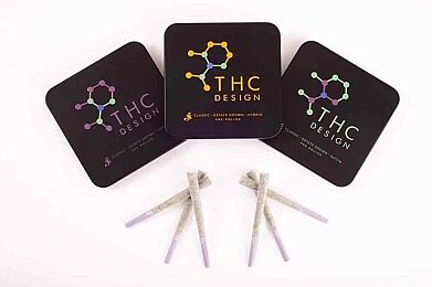 Buy ANY THC-Design Products and Get their Top Shelf PreRolls for ONLY $1.00!!!