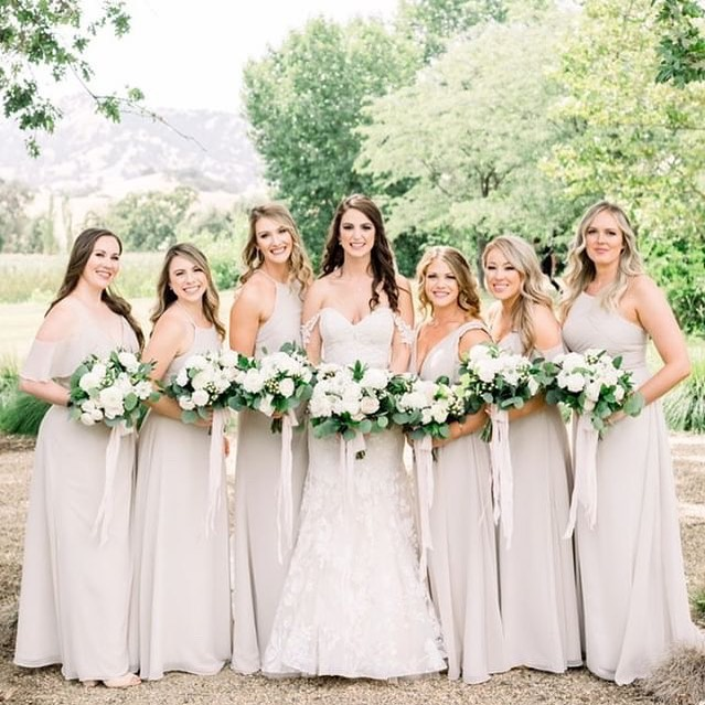 This girl gang was so insanely amazing, they're bond was admirable and their love for their amazing bride was contagious. So blessed to have been a part of this magical day with these amazing gals! Alex, you are an absolute delight and LOVED spending a whole day with your loved ones and your amazing mom and mom in law! You are so loved by so many wonderful people! | @lovealways_bk | 📷 @ashbaumgartner | | @fieldandpond | @jennrobirdsevents