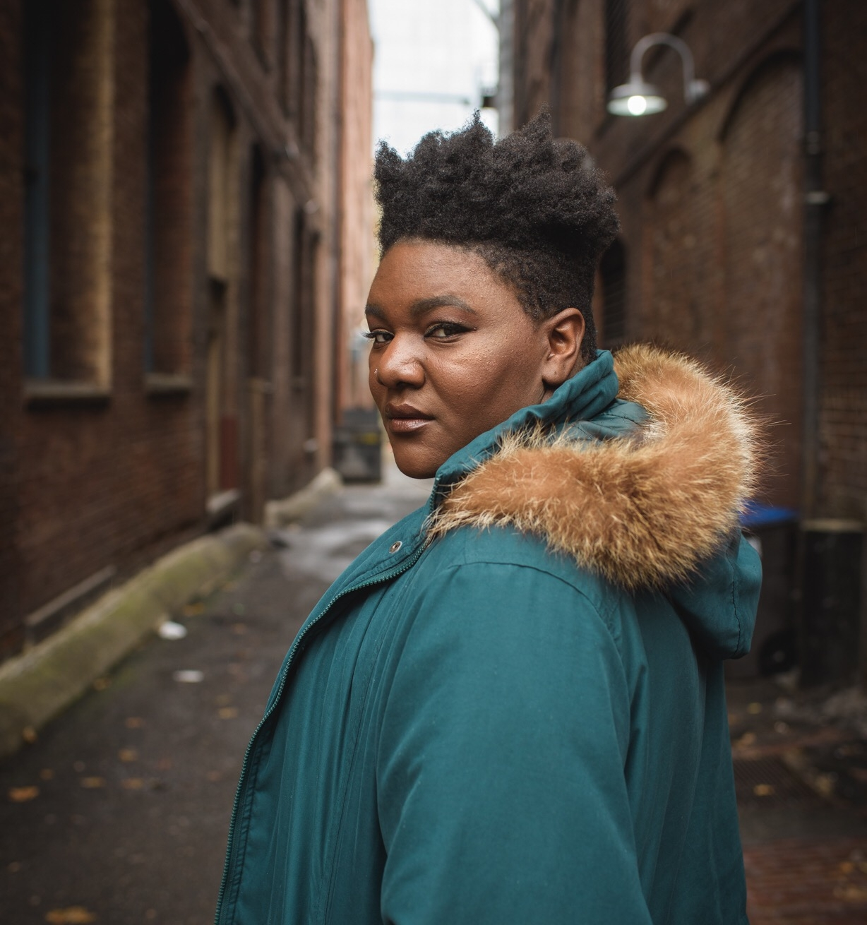KandaMbenza-Ngoma - Kanda is a singer songwriter, model and artist of many types local to Portland. Along with having performed with several prestigious musicians and bands in town, she has been the ambassador and face many fashion lines including Beth Ditto, Chubby Cartwheels and Copper Union. Kanda is a big advocate for racial equity, mental health and body positivity. In spare time, Kanda can be found playing the guitar, listening to Frank Oceanor eating tacos. @kmbenzangoma