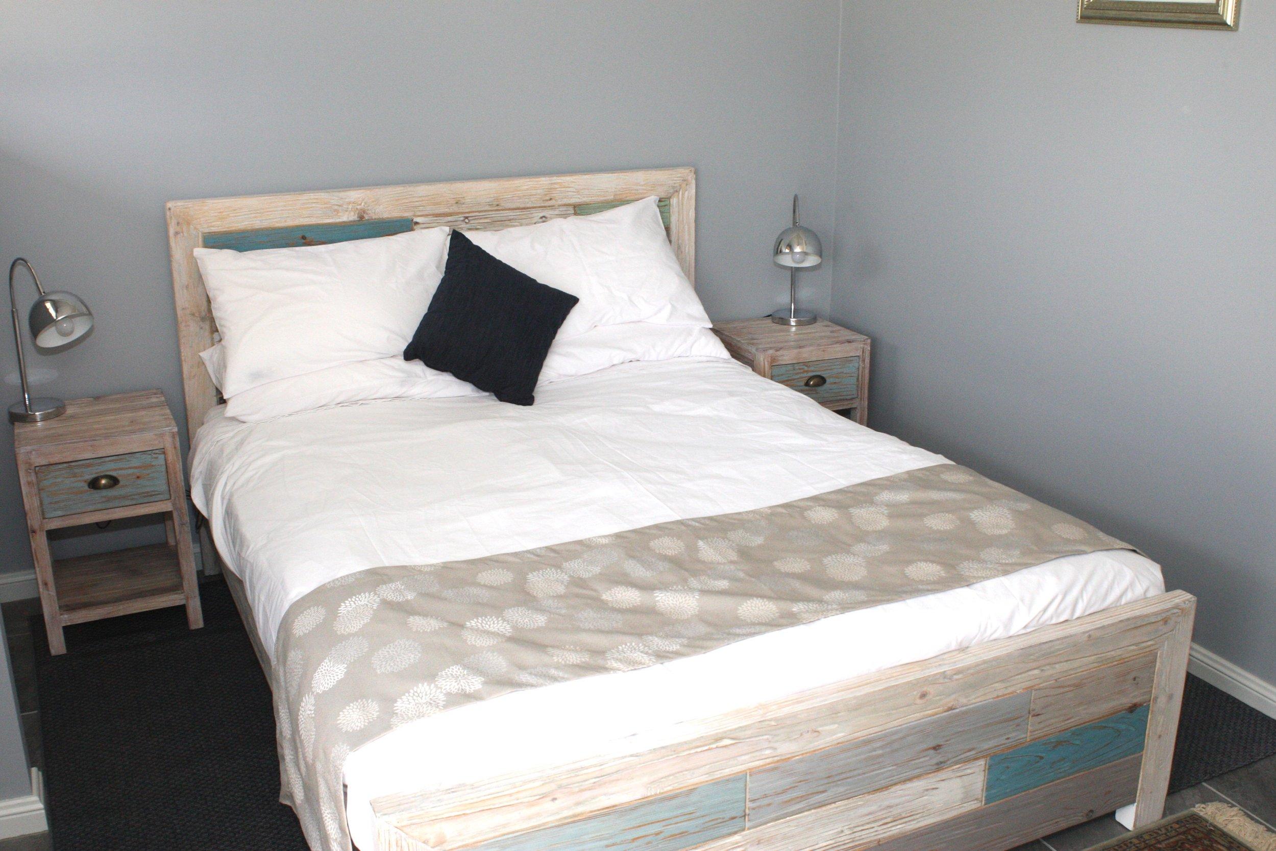 Queen Bed in Seperate Bedroom