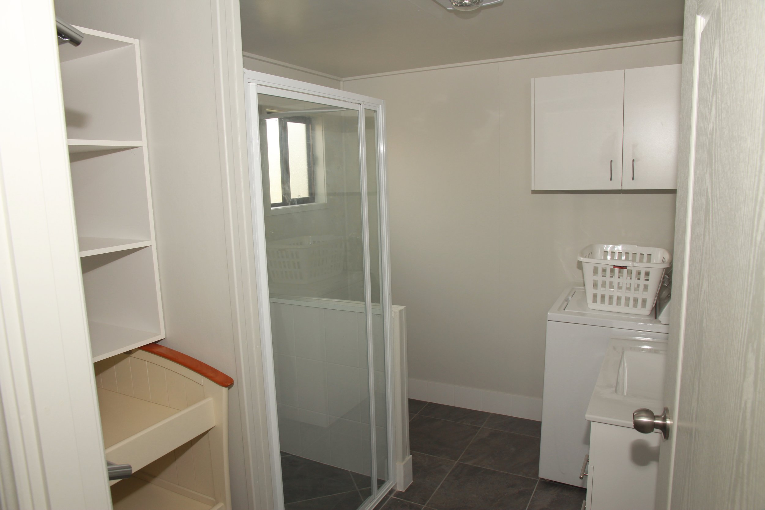 Ensuite Shower Toilet and Laundry