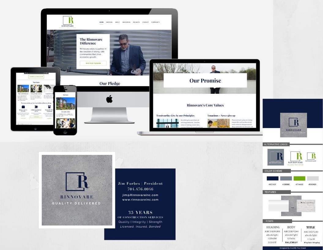 Branding and Website Launch