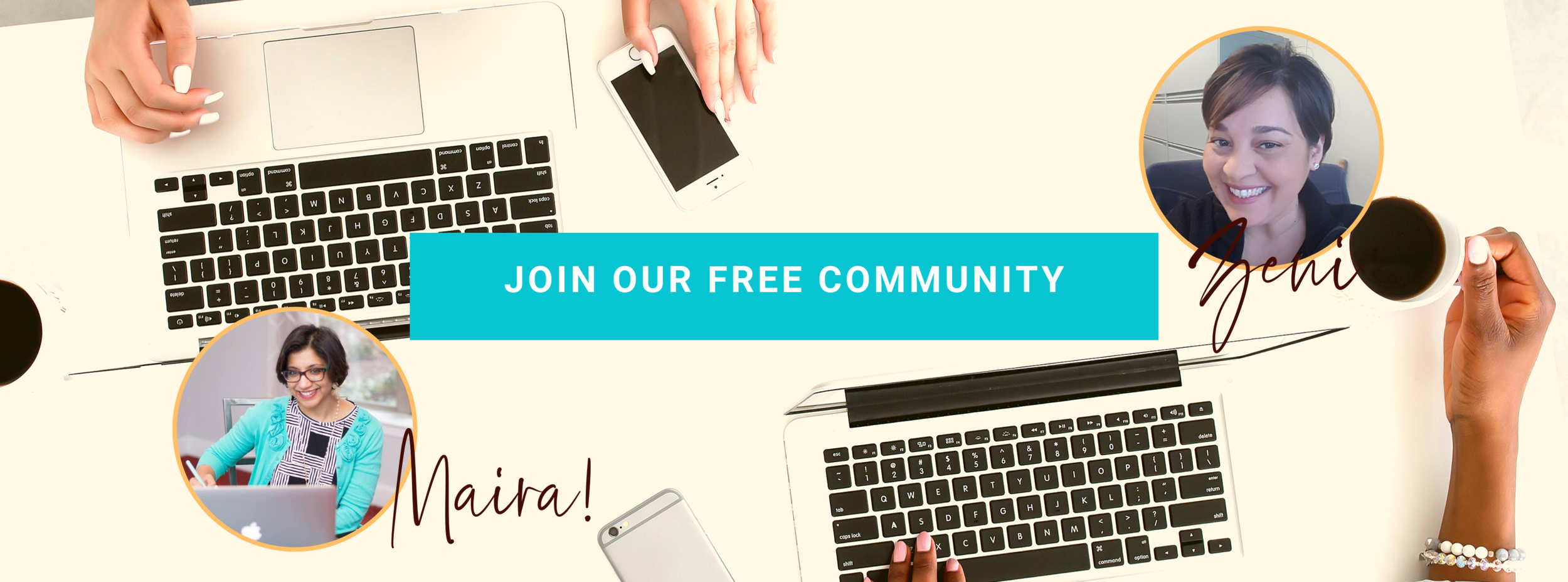 Join our FREE facebook community of other entrepreneurs