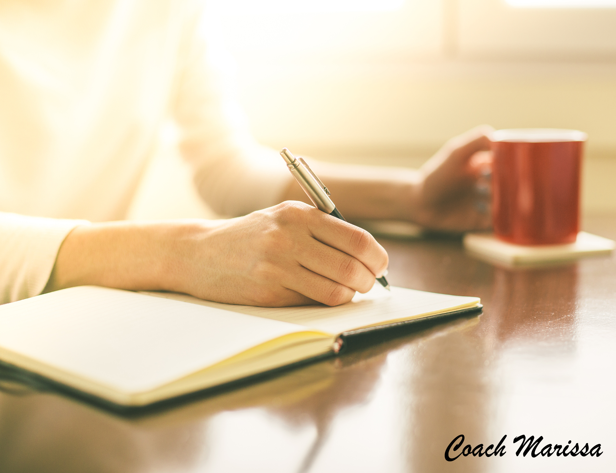 Coach Marissa Jacobs' tips for increasing your writing practice creativity with a ritual of morning pages.