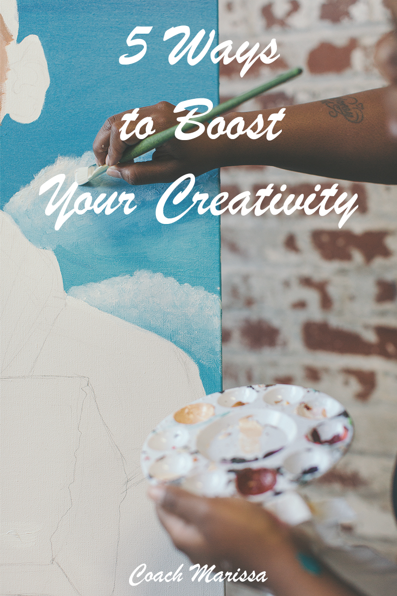 5 Ways to Boost your creativity!