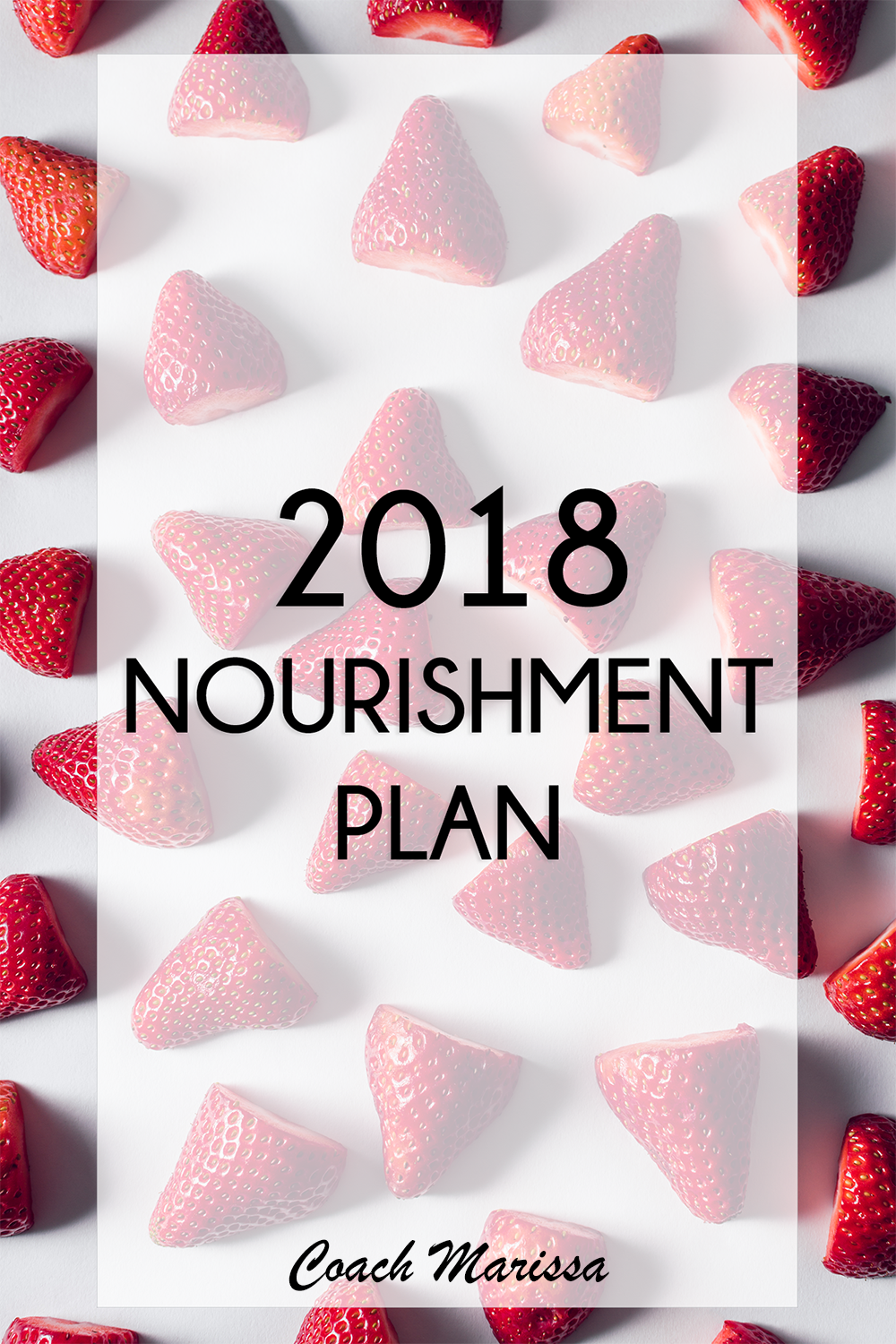2018 nourishment plan - here is my diet to take care of my body and be healthy this year!