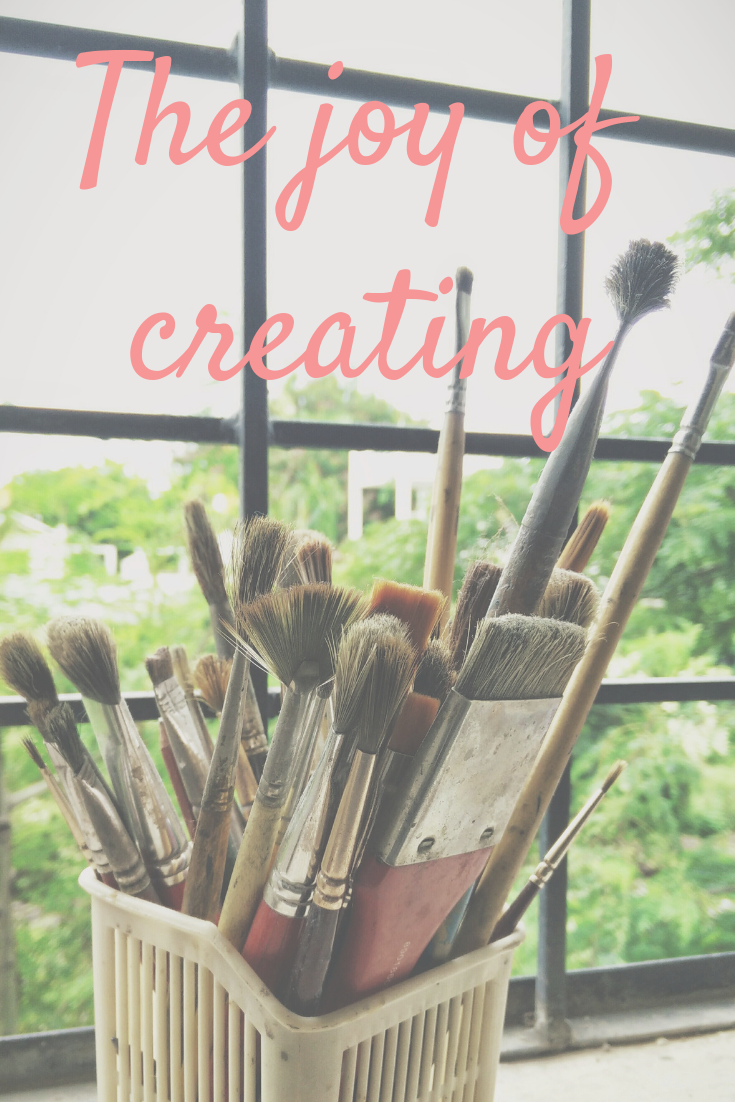 From Life Design Coach Marissa Jacobs - the joy of creating and unleashing your creative potential to feel empowered to shape your ideal life!