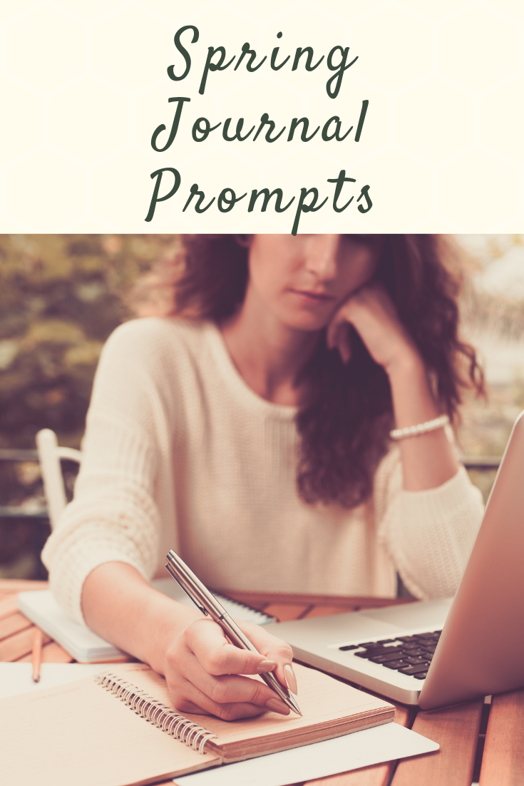 Spring 2019 journal prompts for creativity and reflection!