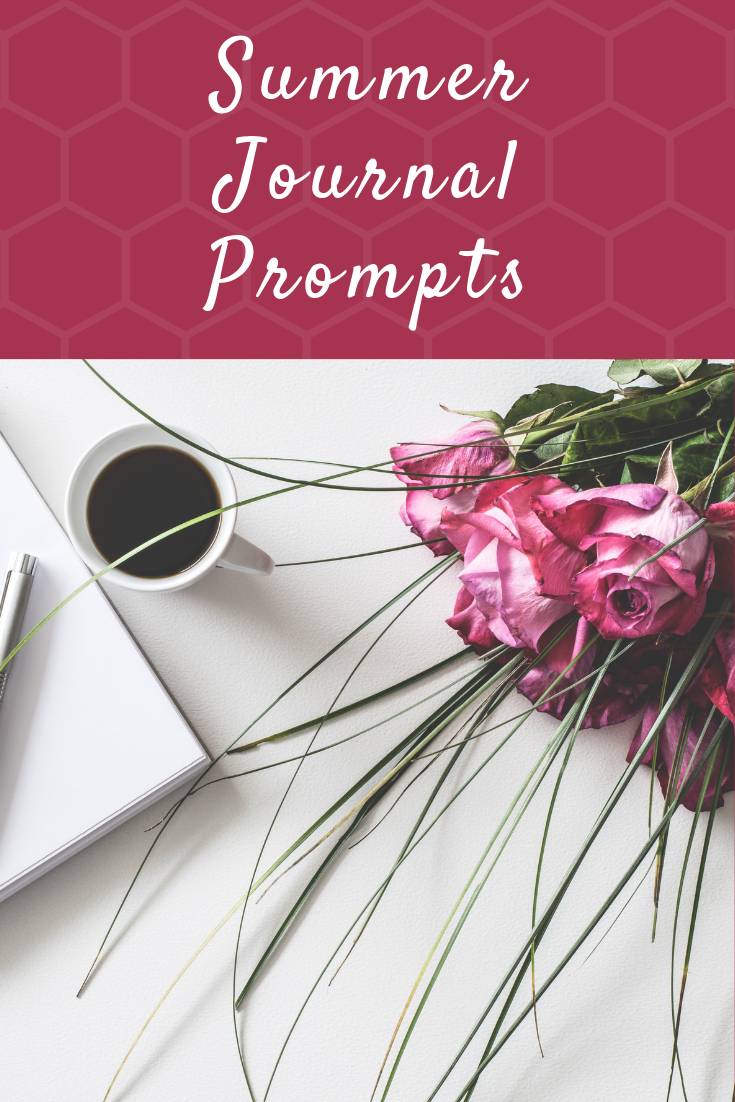 Summer journal prompts for a creative spark and writing inspiration!