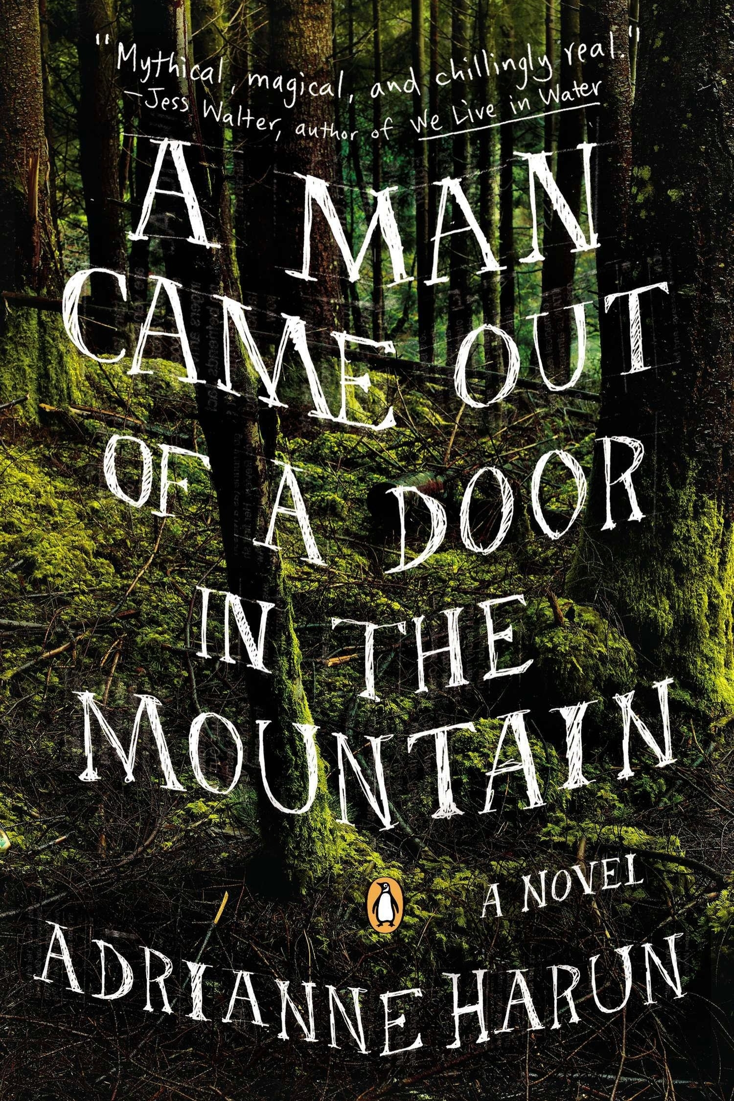 A MAN CAME OUT OF A DOOR IN THE MOUNTAIN   In isolated British Columbia, girls, mostly Native, are vanishing from the sides of a notorious highway. Leo Kreutzer and his four friends are barely touched by these disappearances–until a series of mysterious and troublesome outsiders come to town, and it seems as if the devil himself has appeared among them. In this intoxicatingly lush debut novel, Adrianne Harun weaves together folklore, mythology, and elements of magical realism to create a compelling and unsettling portrait of life in a dead-end town.  A Man Came Out of a Door in the Mountain  is atmospheric and evocative, a broken world rendered with grit and poetry in equal measure.    More Information      Buy Book