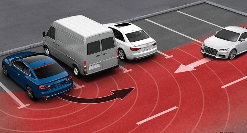 Rear cross traffic assist