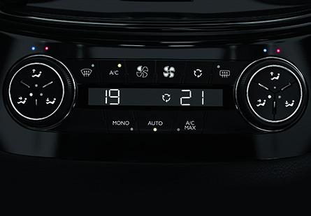 automatic quad-zone air conditioning