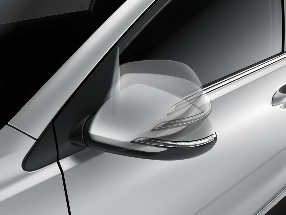 Heated Electric Folding Mirrors
