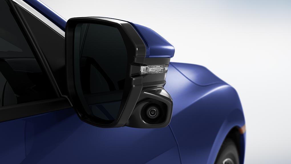 Honda Lane Watch blind spot display