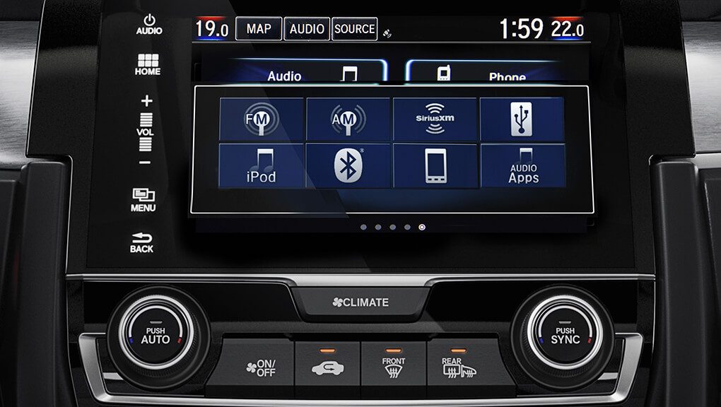 7 inch Display audio system