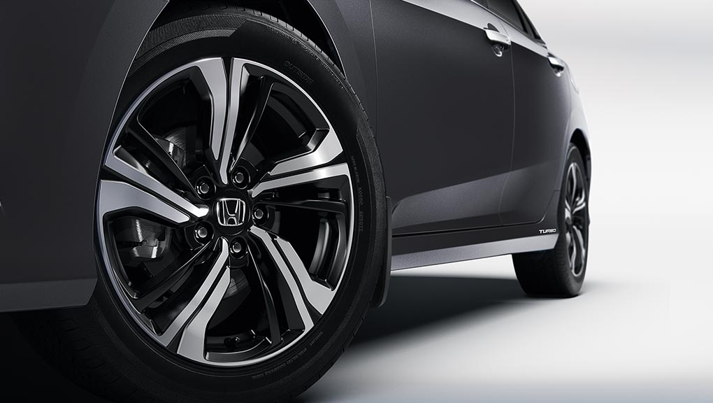 17 inch aluminium-alloy wheels