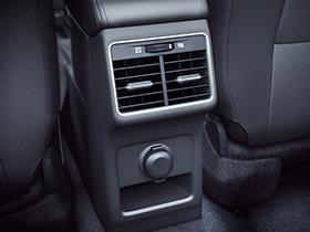Rear AC vents and 12V accessory socket