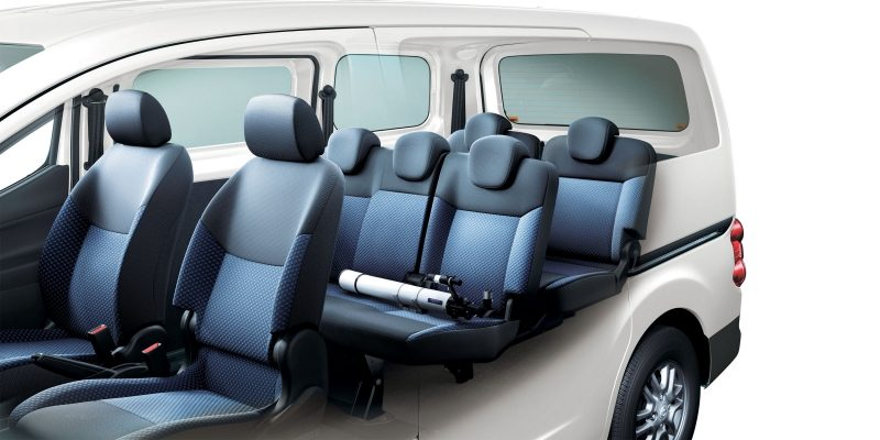 5 or 7-seater people carrier