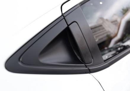 Carbon fiber door handle