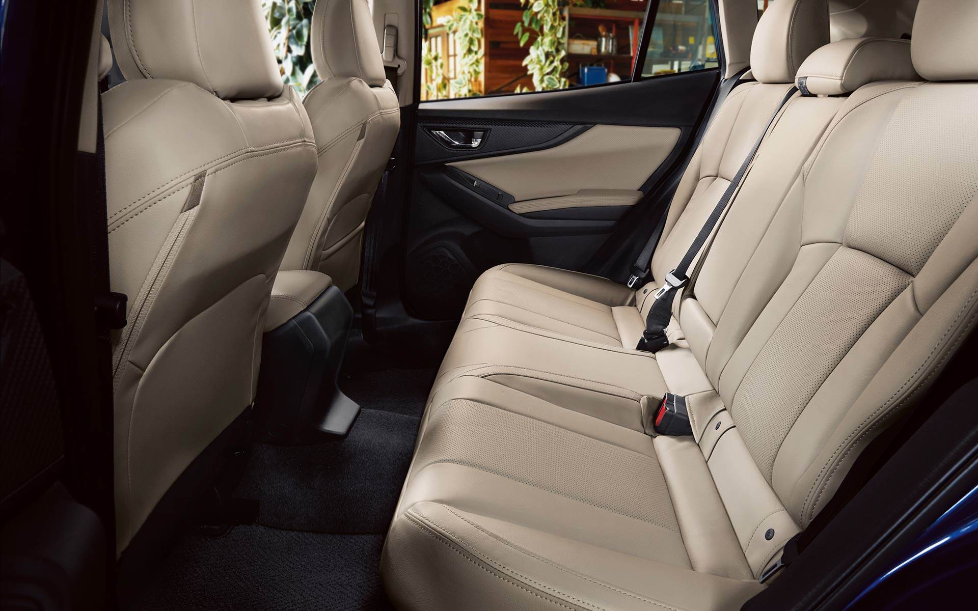 Right-Sized, High-Quality, Comfortable Interior