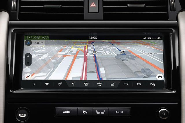 Connect Pro, Pro Services and Wi-Fi Hotspot and a number of connected navigation features including real time traffic information