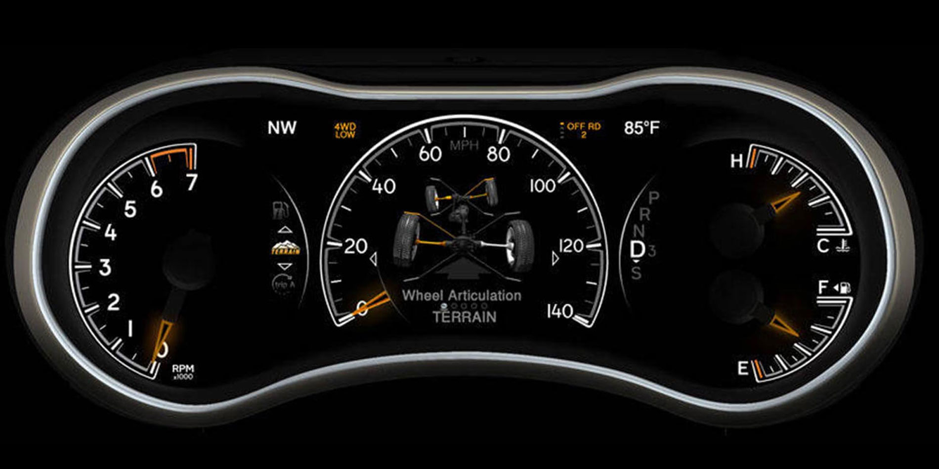 Personalised Instrument Cluster