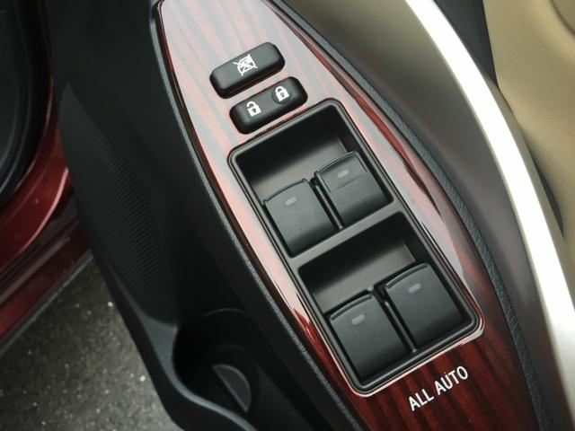 Car window control and adjustment buttons