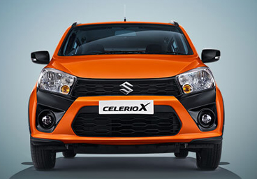 Striking X Graphic and Grille Design