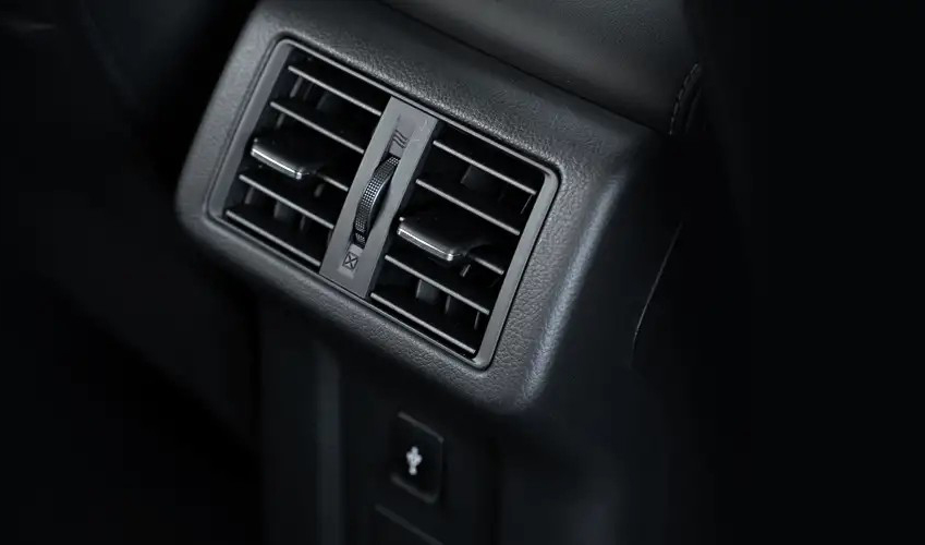 Rear Seat Vents