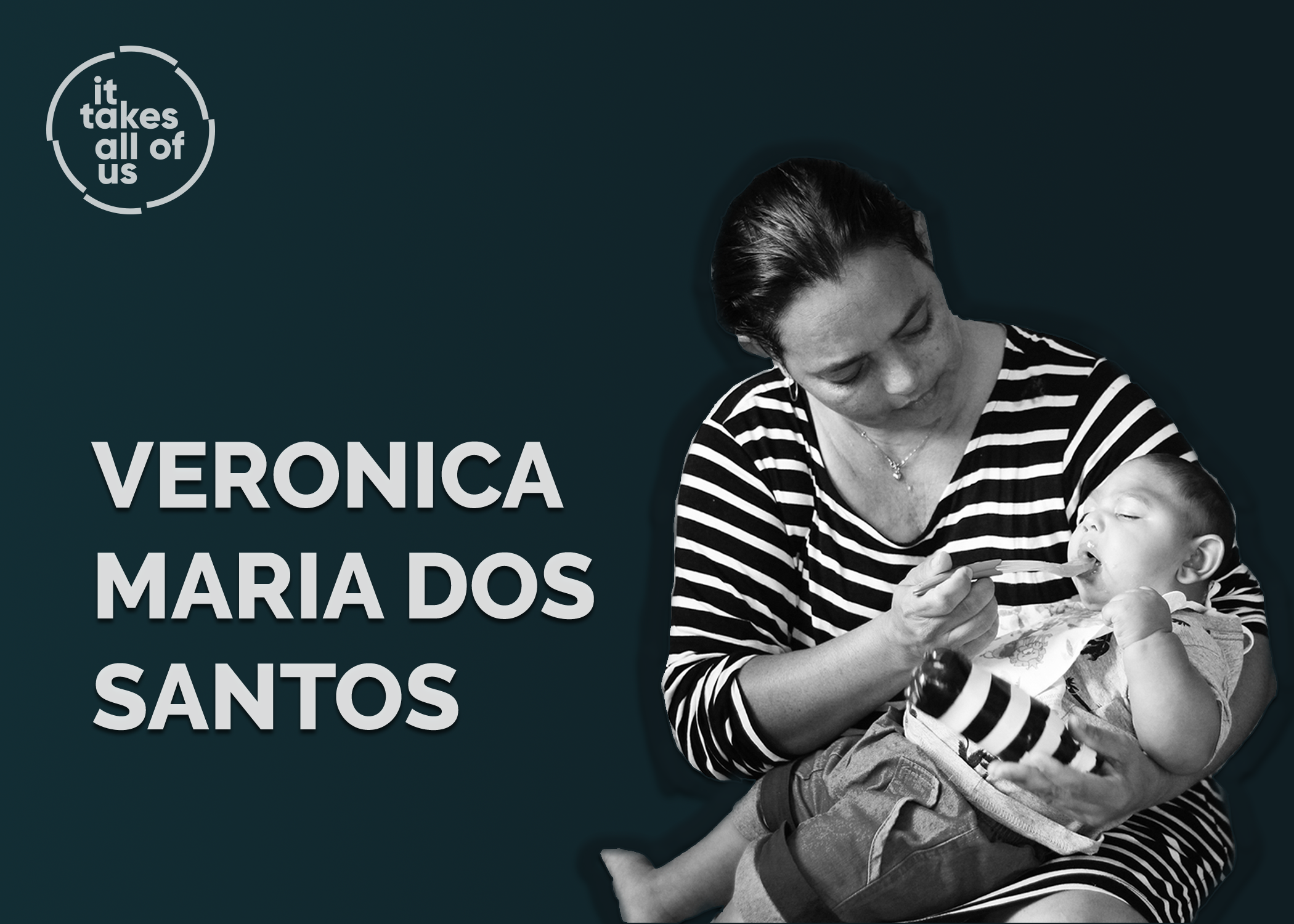 Veronica Maria dos Santos is a Brazilian mother of four, living in one of the poorest neighborhoods in the outskirts of Recife, Brazil. A month before her youngest child's birth, her doctor told her baby Joao would be born with microcephaly, most likely resulting from a Zika infection. After Joao's birth, Veronica had to quit her job in order to prioritize Joao's health and development. Nowadays, Veronica spends her time in and out of doctor appointments with her son, often traveling long hours by bus to get Joao the care he needs. Due to the severeness of Joao's case, finding the best care for him has been challenging. Veronica joined a tight knit group of mothers caring for children with Zika-related microcephaly. They meet several times a week at different clinics and group therapy sessions, where they provide support, friendship, and strength to one another.