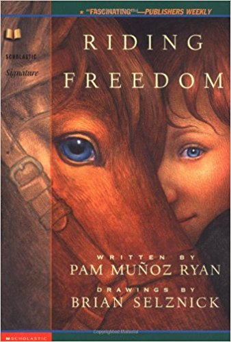 - Riding Freedom by Pam Munoz RyanA chapter book about the life Charlotte Parkhurst as she first finds work as a stable hand, becomes a famous stage-coach driver. Great read aloud for 2nd grade.