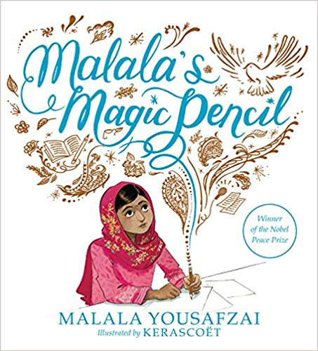 - Malala's Magic Pencil by Malala YousafzaiMalala's own empowering story of finding her voice, through her own horrific experience.