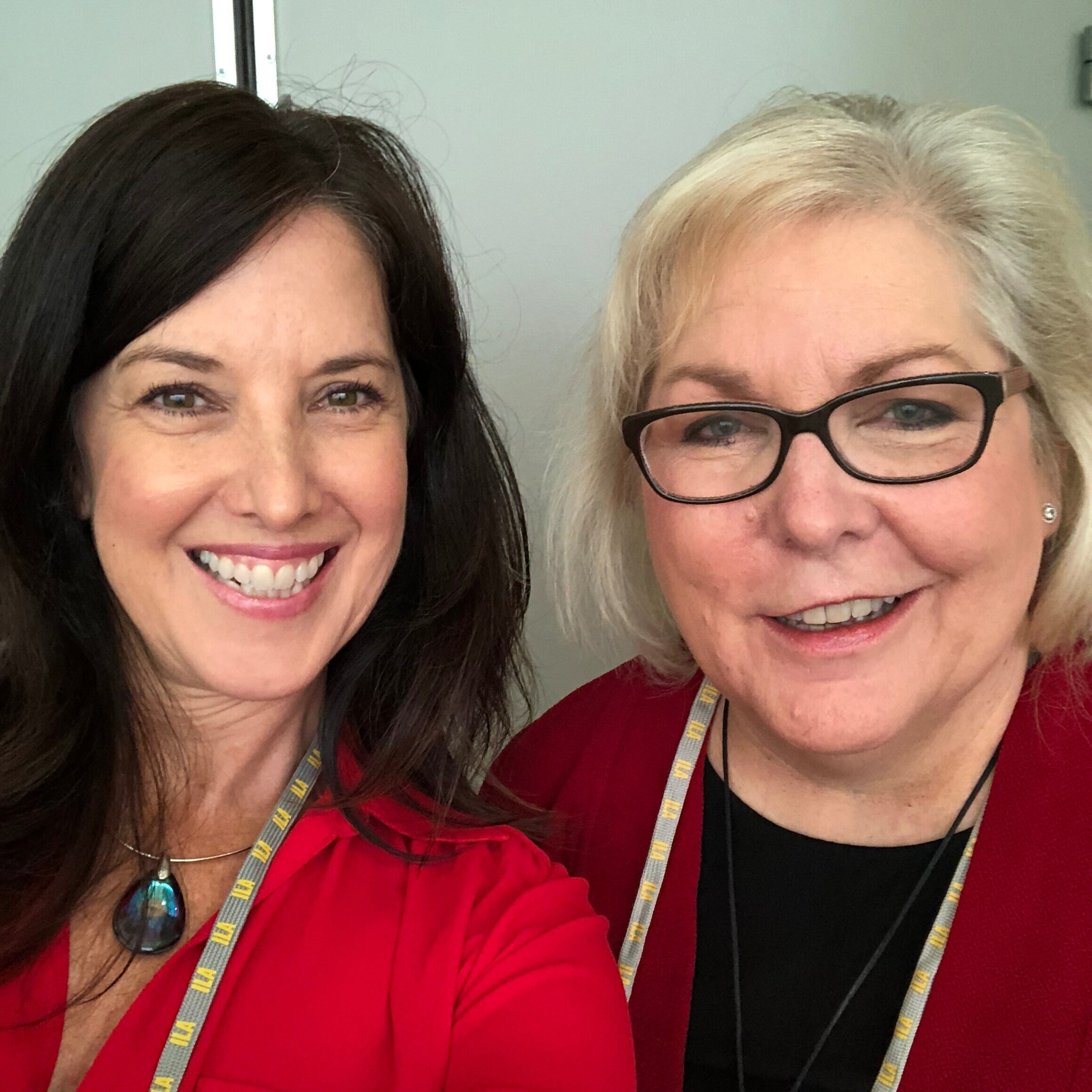 Dr. Nancy Frey and I at ILA Austin 2018