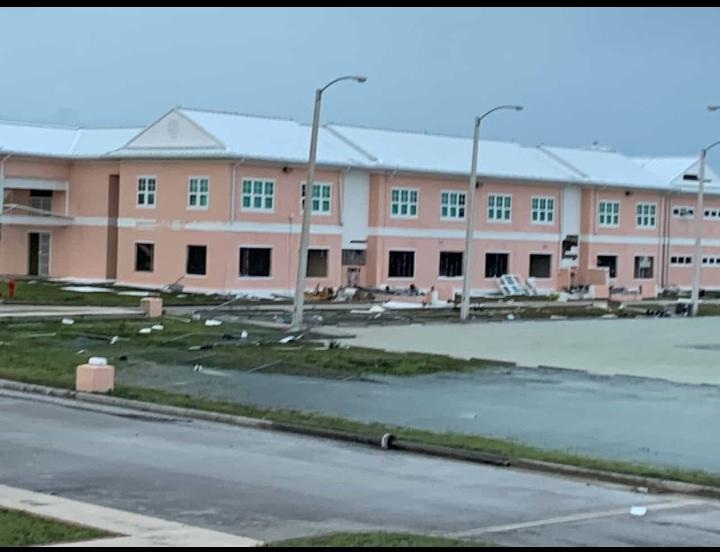 Hurricane Dorian's Destruction at University of The Bahamas-North