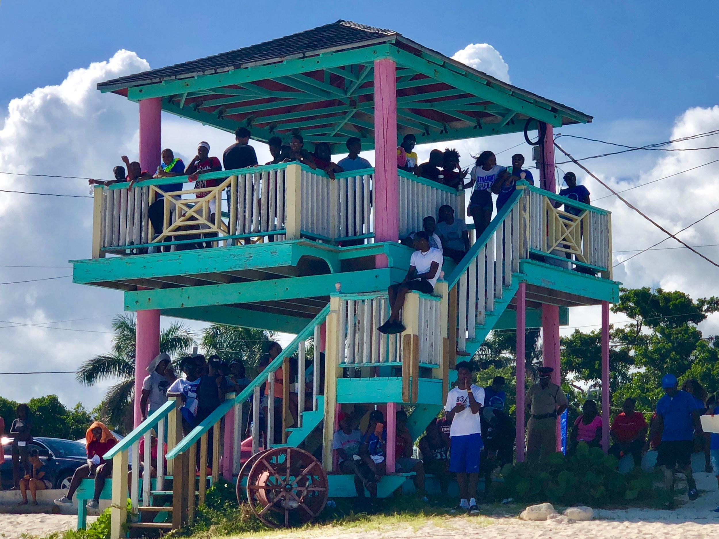 UB Students at Blue Splash