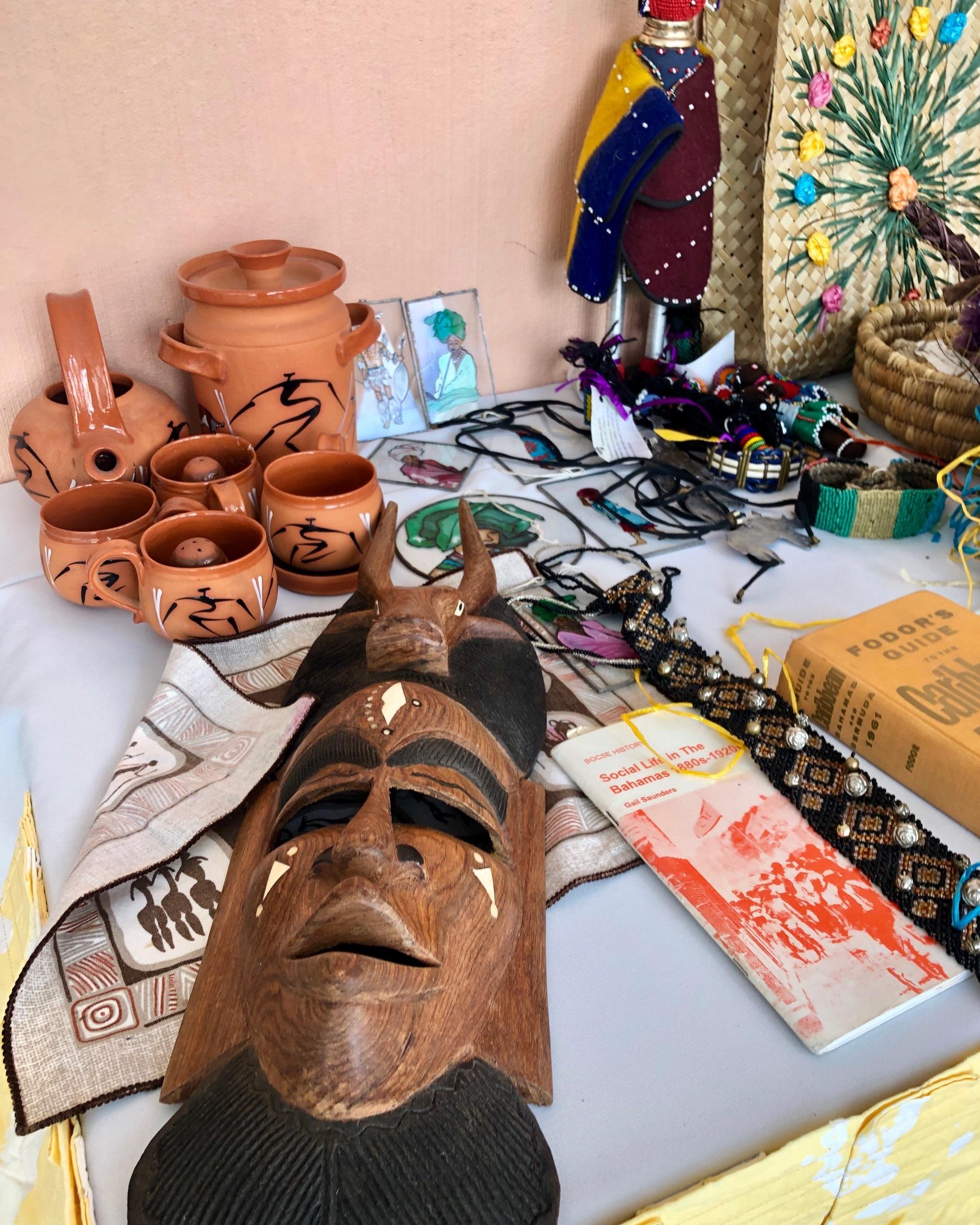 Bahamian Artifacts at Culturama