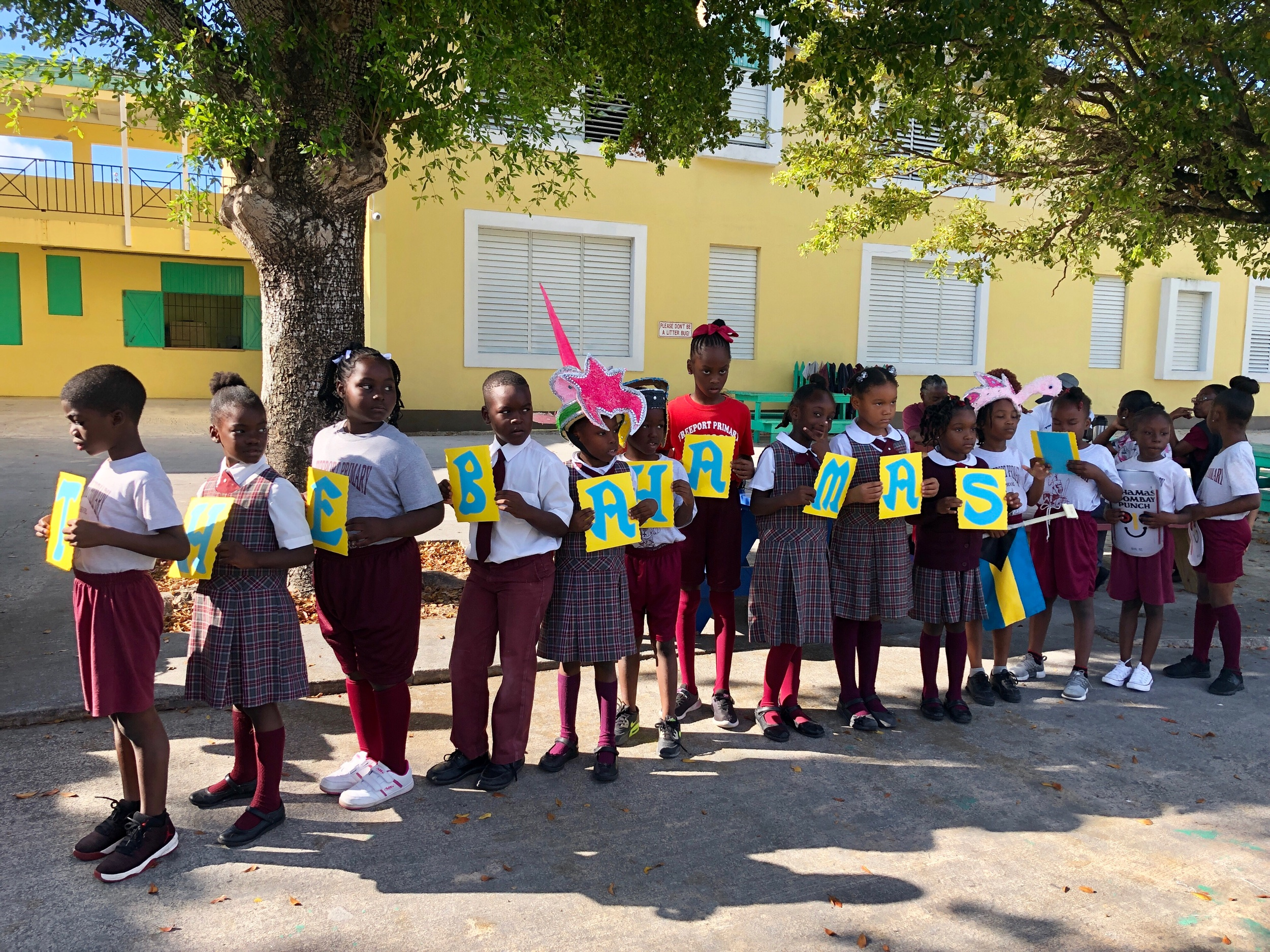 Literacy Day at Freeport Primary