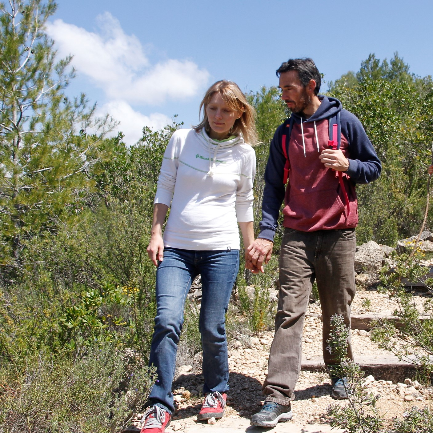 Maya Ayupova and Vicent Palau have made the .premium topos from Margalef and are the authors of Climbing Margalef guidebook and long term bolters of the area.
