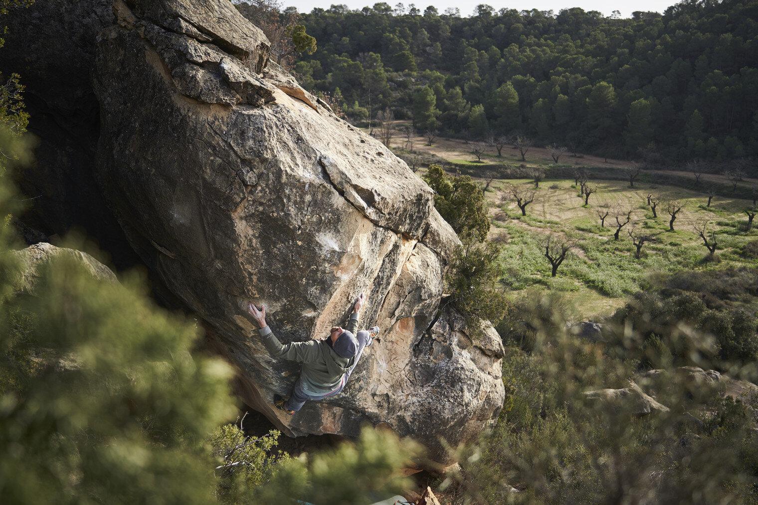 Photographer: Marko Kauko. Climber: Jyrki Kauko.
