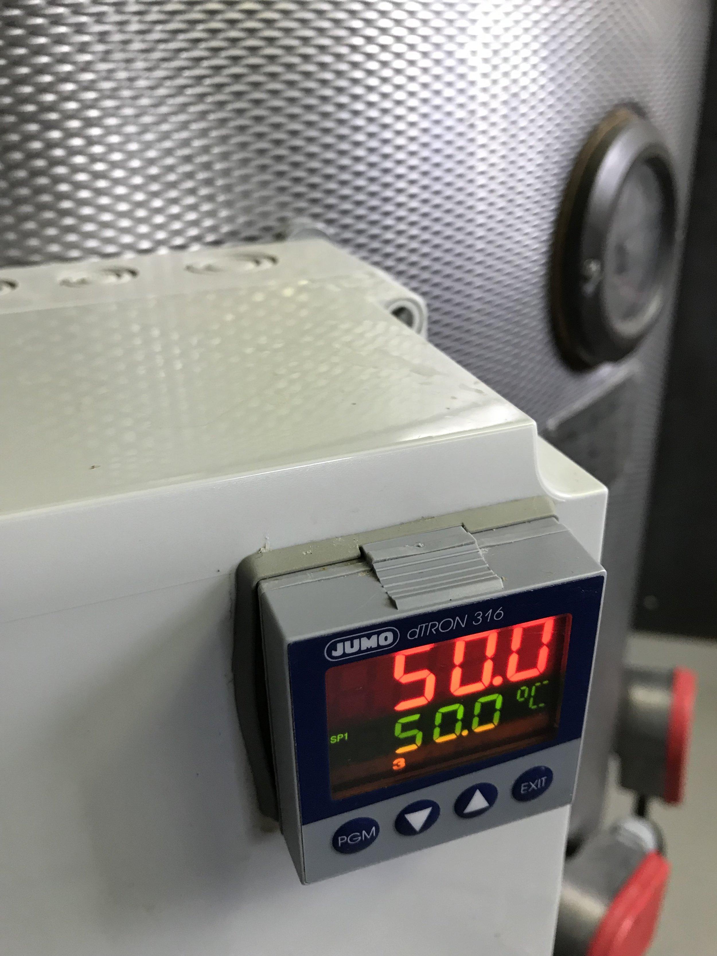 Temperatur styrning - JUMO dTron 316