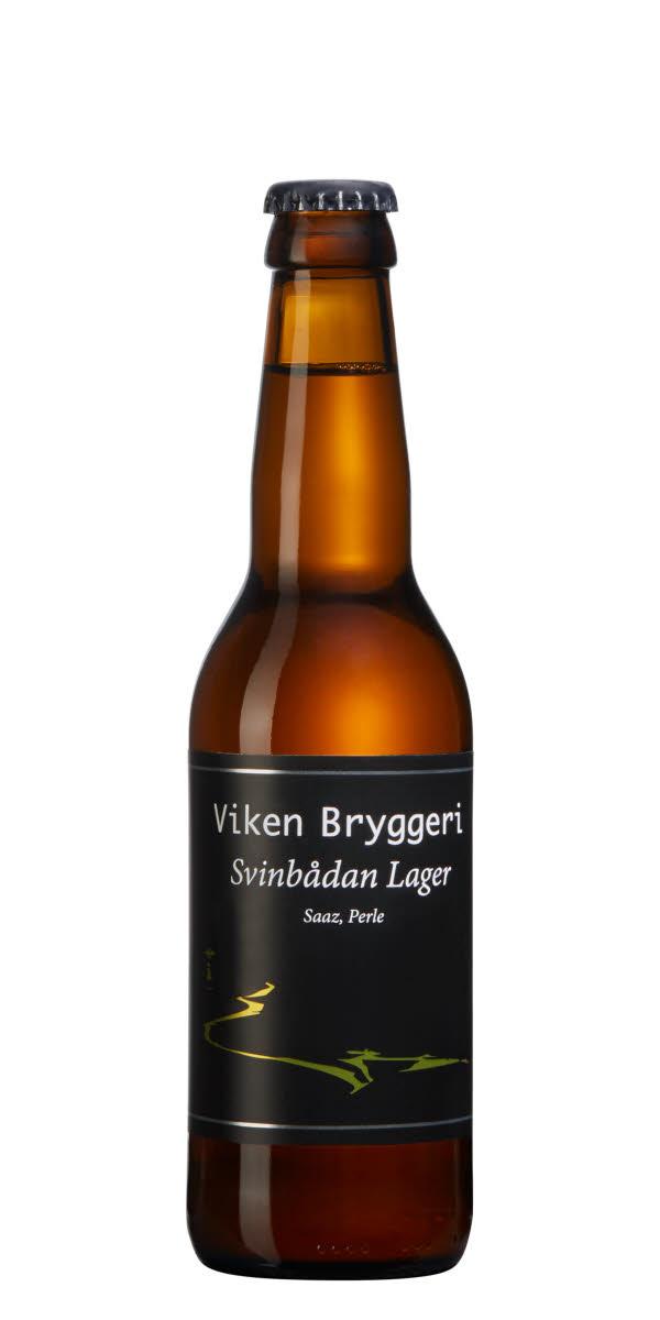 Svinbådan Lager - En Böhmisk (Tjeckisk) lager med toner av knäckebröd, aprikos, örter och pomerans. Det är en lager med smak.