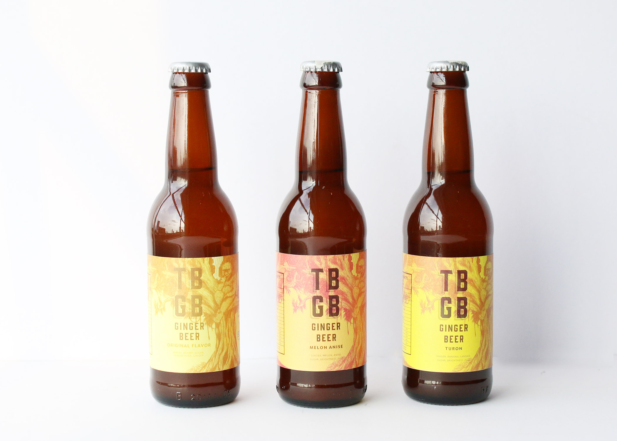 GINGER BEER - The Natural World is AWESOME!TBGB is our bottled ginger beer. No, it is not alcoholic. The difference between ginger ale and ginger beer is that the latter is fermented and therefore has more of that ginger taste.