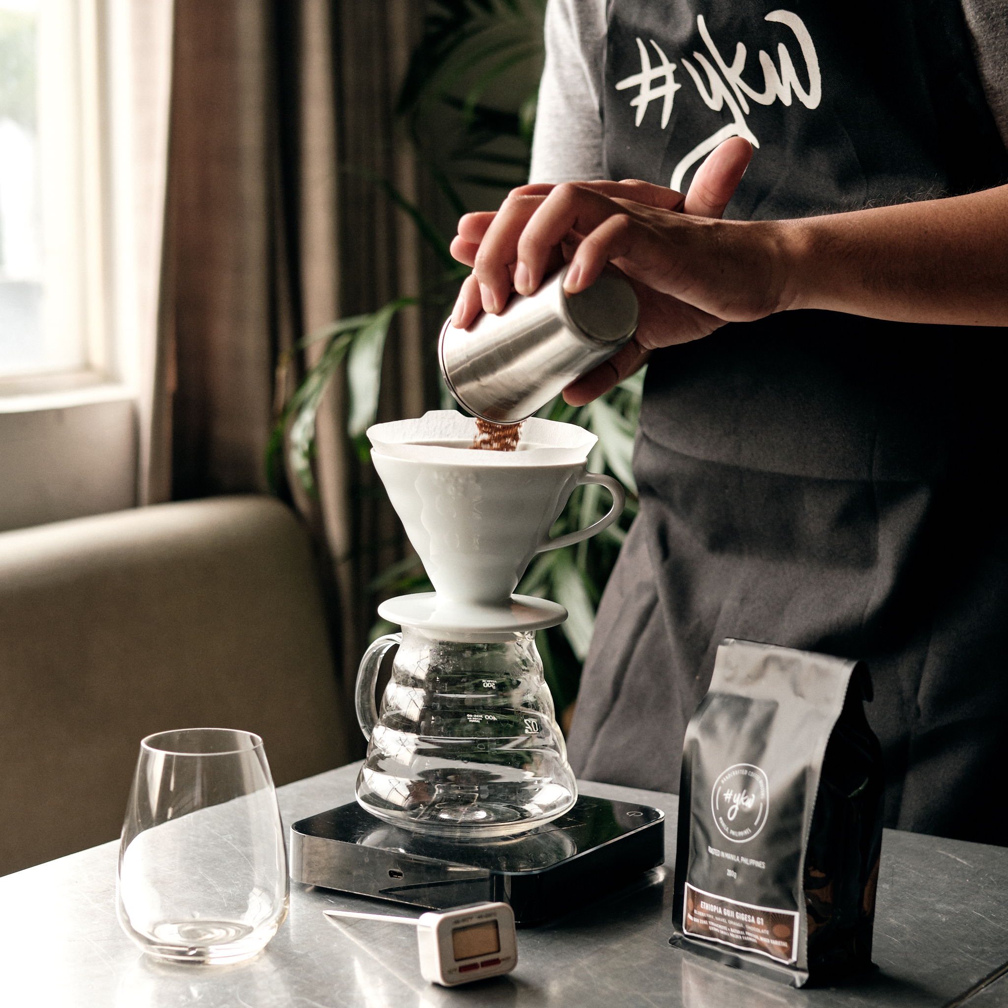 Brewing 101 - What We Learn· Introduction and appreciation to specialty coffee· Introduction to several brewing methods· Coffee tasting· Pour over application· Tasting and evaluating