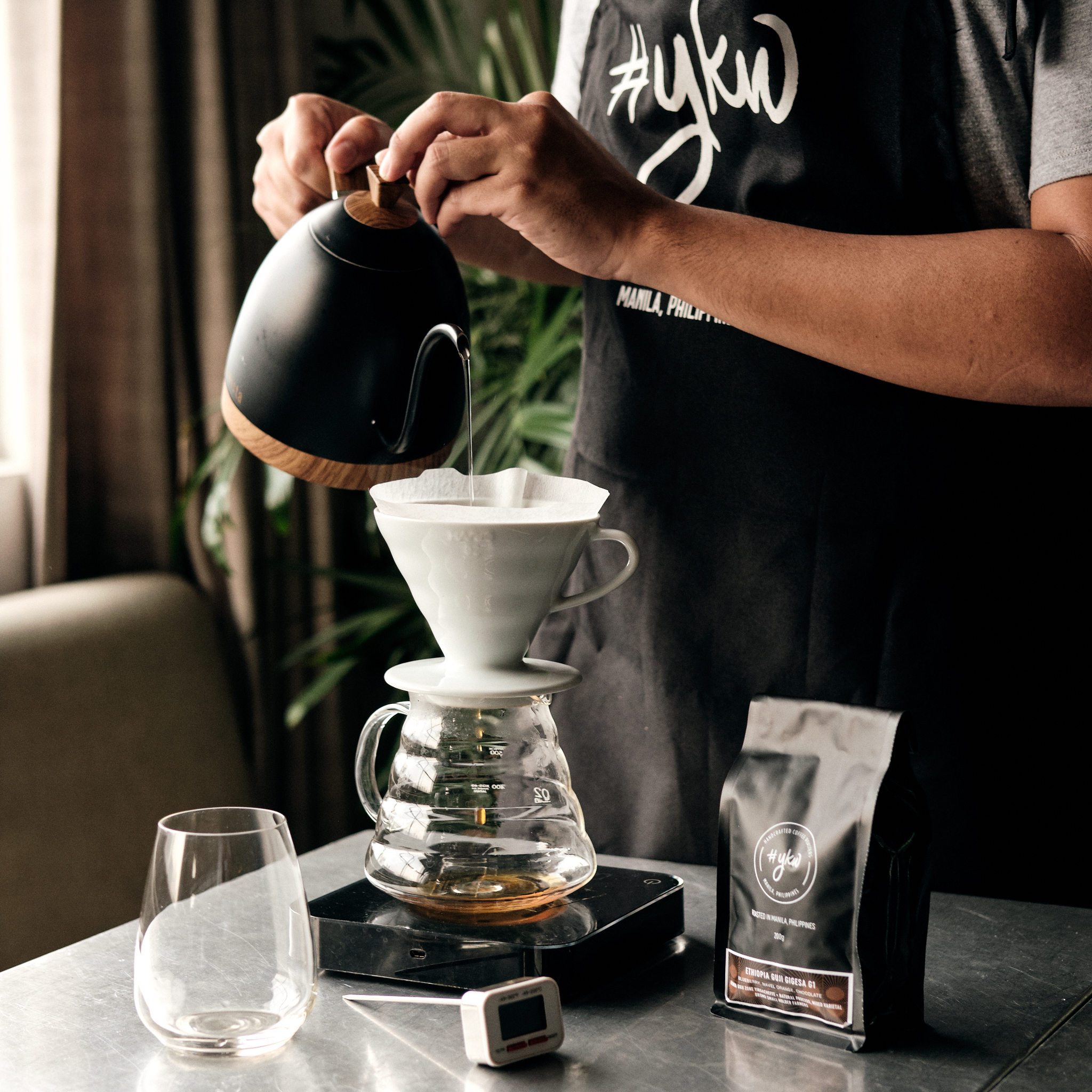 Brewing 101 - Offers to anyone who is curious about specialty coffee and manual brewing.This hands-on class gives you tools you need to perfect your coffee routine at home or at your office. No experience necessary.Time: Tuesdays 2:00pm -5:00pmDuration: 3 HoursClass Size: 1-4 participantsFee: 2500php | person