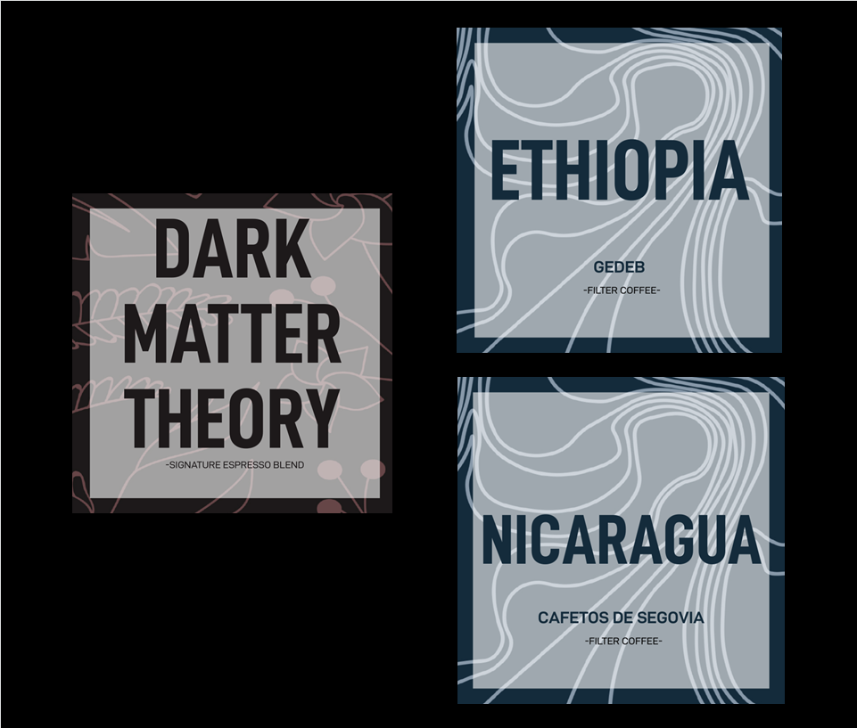 DARK MATTER THEORY+ SINGLE ORIGIN - 400 grams in one delivery your choice between Dark Matter Theory and one Single Origin.