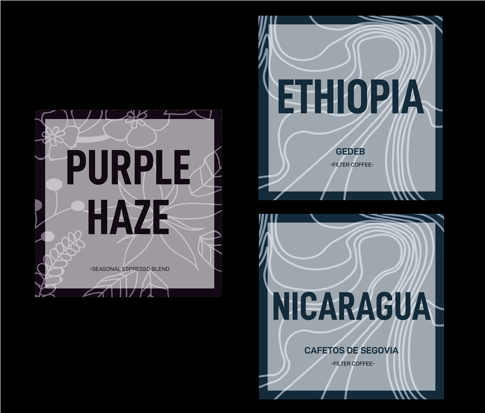 purple haze +singleorigin - 400 grams in one delivery your choice between Purple Haze and one Single Origin.