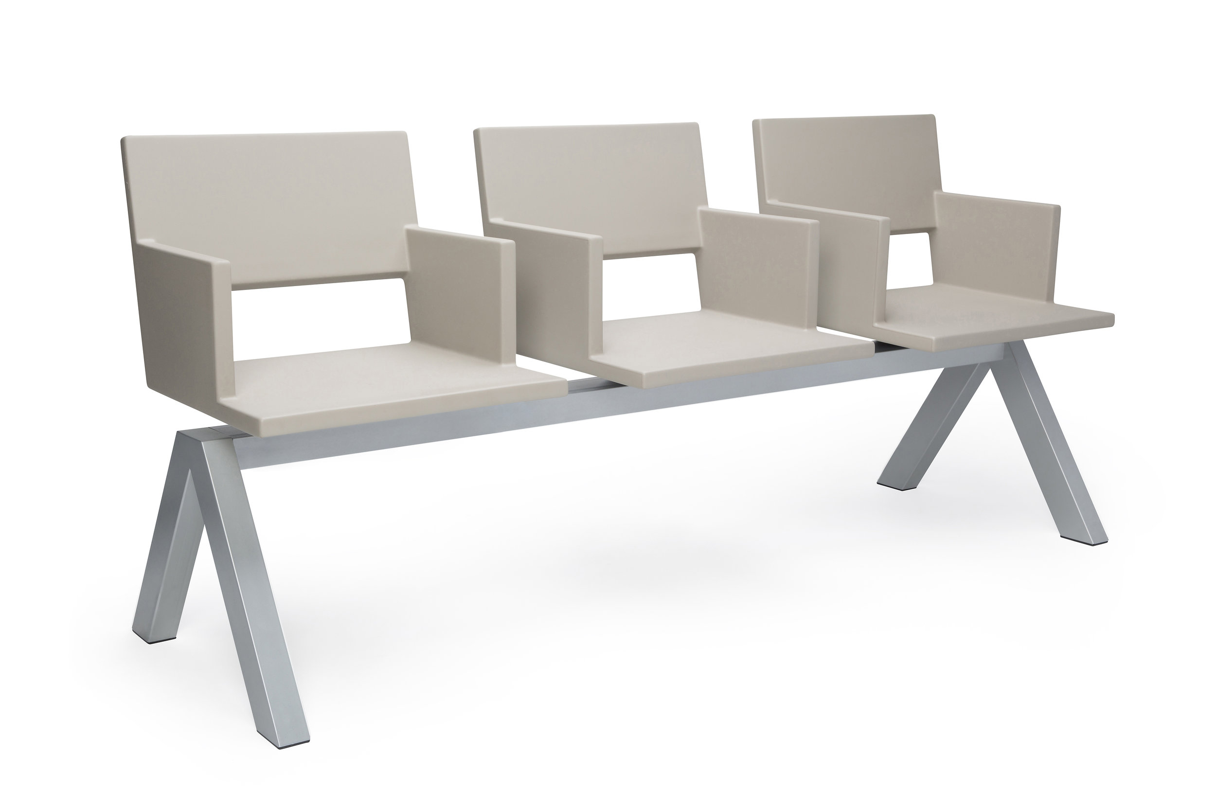 L.A.F. bench taupe side angle.jpg