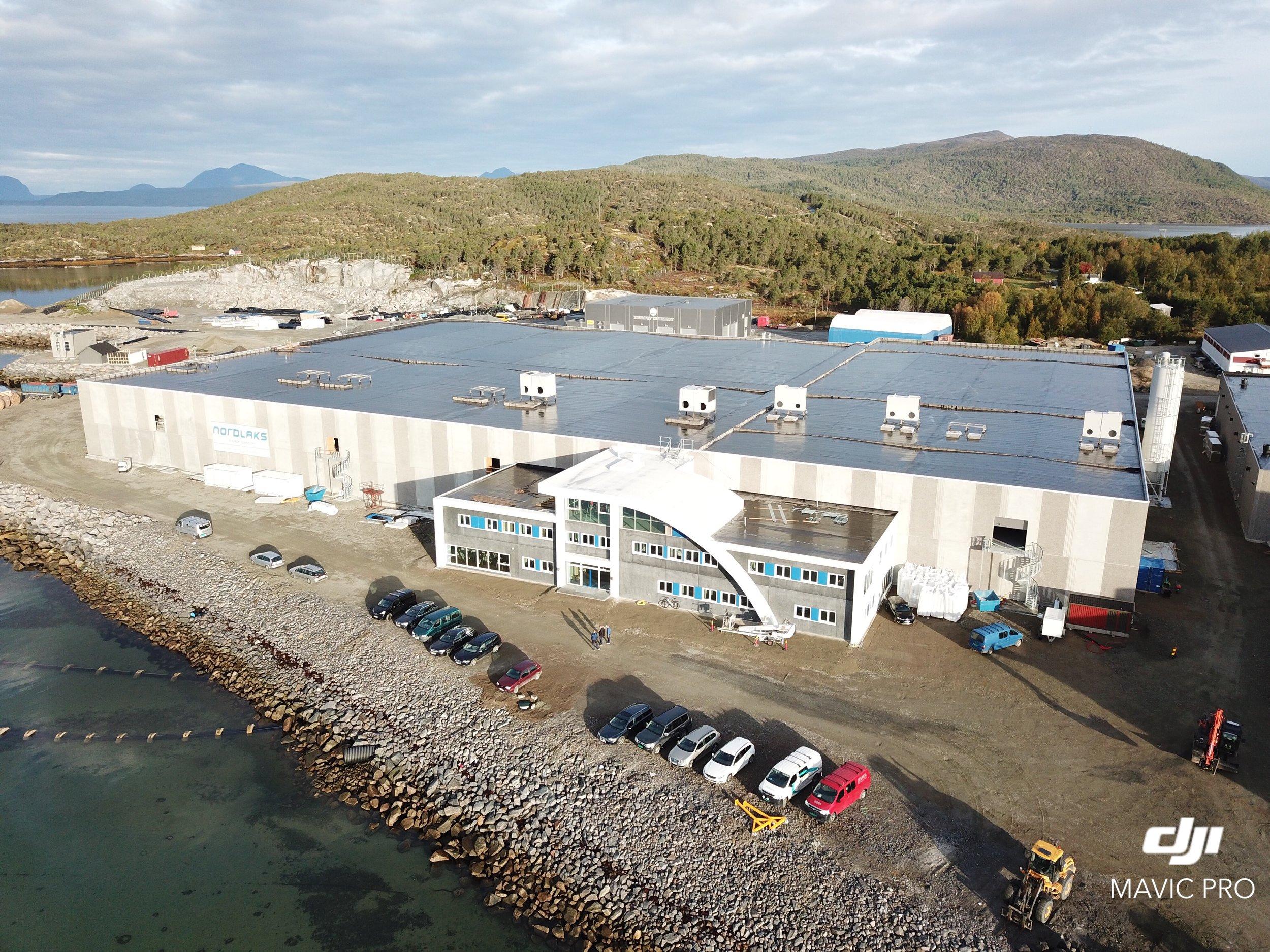 Settefiskanlegget på Innhavet i Hamarøy ferdigstilles i løpet av 2019.