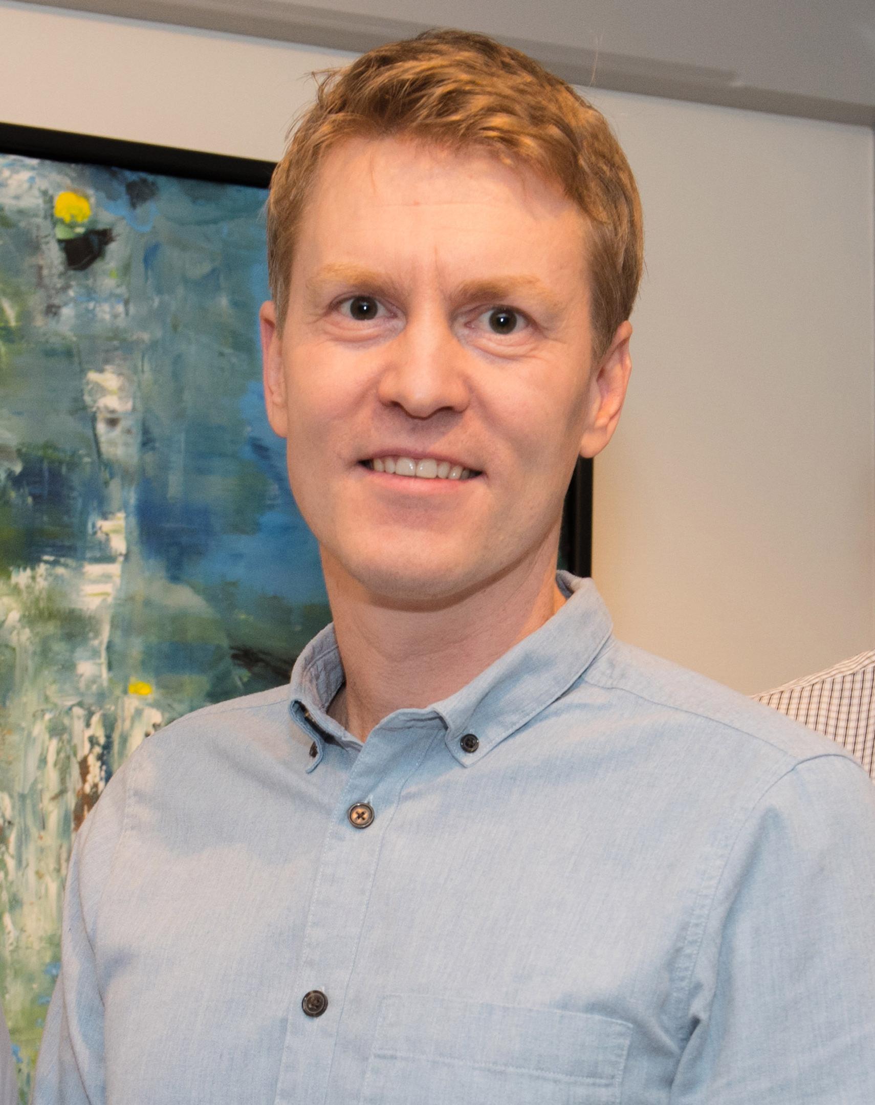 Konsernsjef Eirik Welde i Nordlaks (foto: Bjørn Eide)